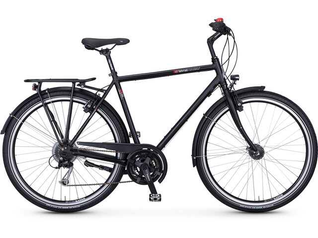 vsf fahrradmanufaktur T-50 Diamante Alivio 24-Marchas, ebony matt